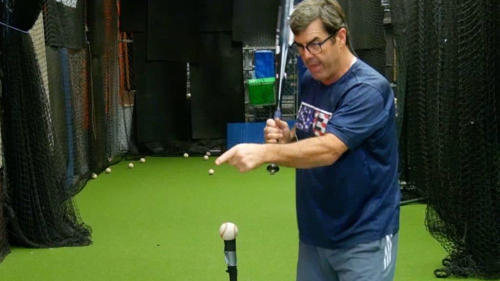 Keep Head Down Baseball Hitting Tip