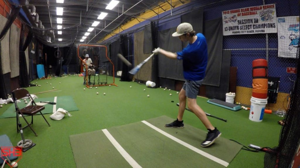 back hand front toss hitting drill