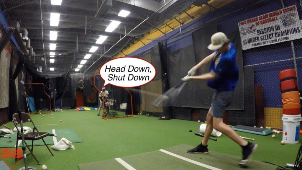 keep head down