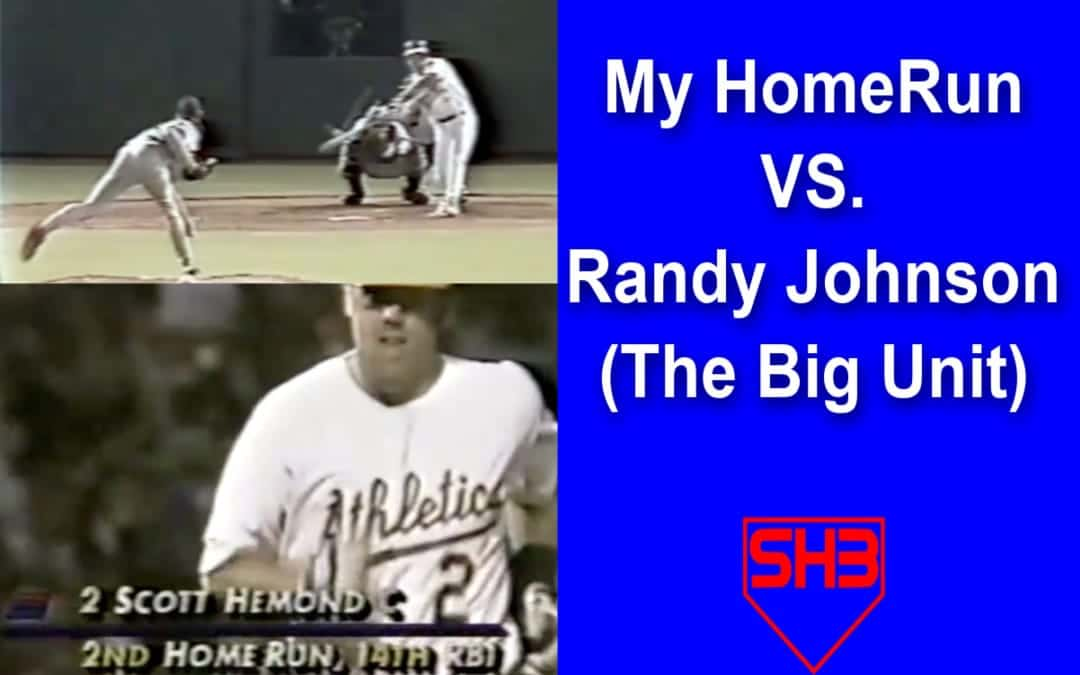 scott hemond home run randy johnson