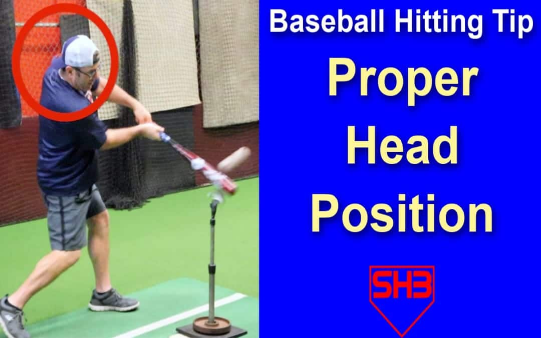 baseball hitting tip head position