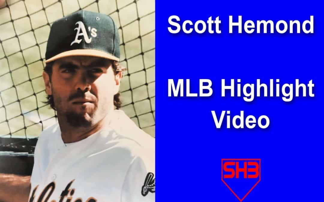 Scott Hemond MLB Hitting Highlight Video