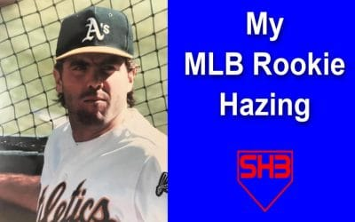 My MLB Rookie Hazing Story