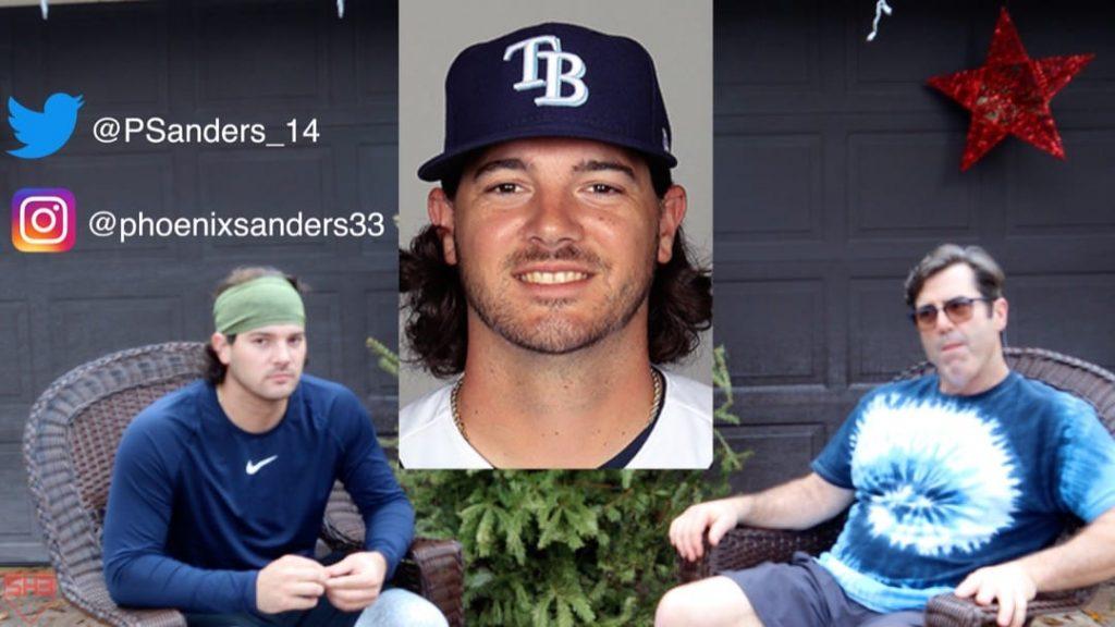 Phoenix Sanders Tampa Bay Rays Pitcher