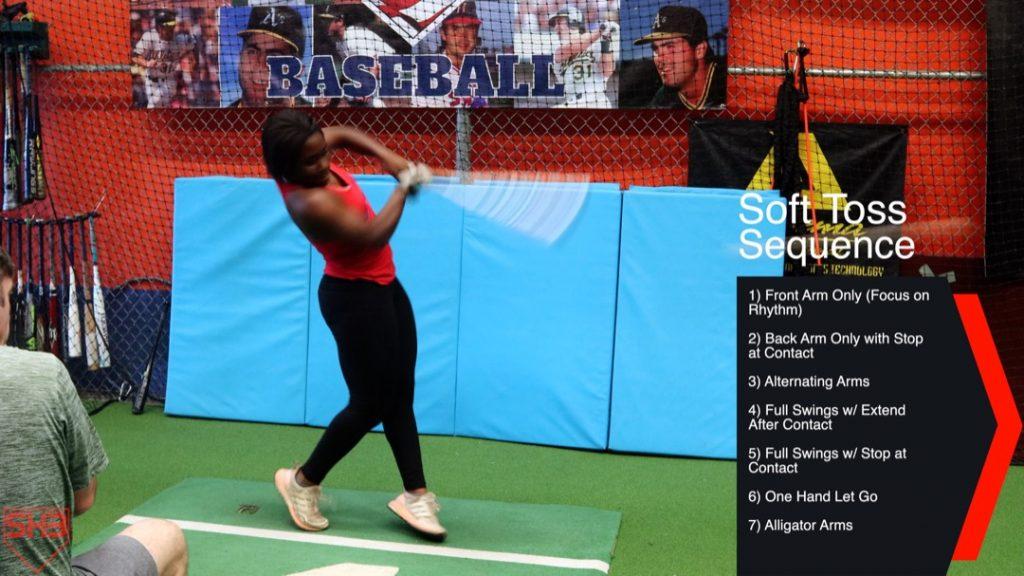 alligator arms softball swing mechanics